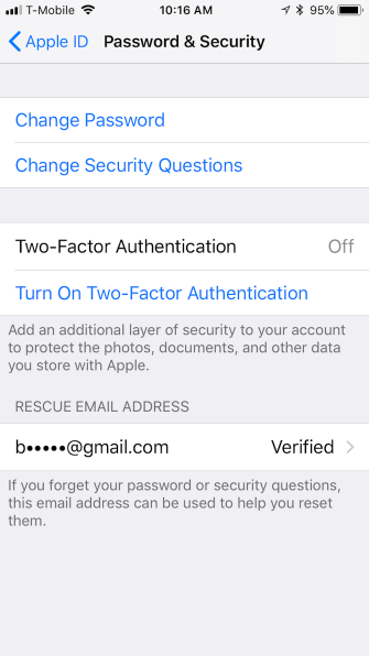 How to Protect Your Apple Account With Two-Factor Authentication