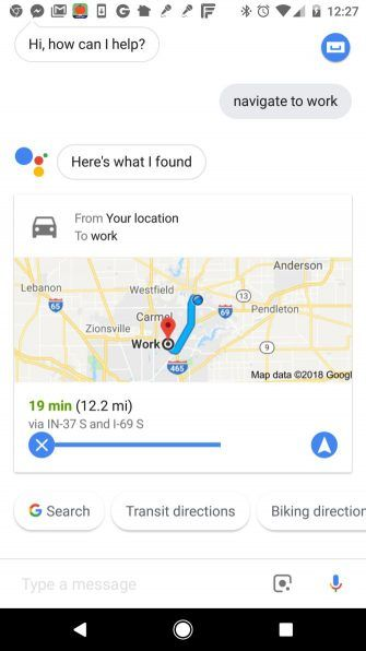 Change Voice In Google Maps on