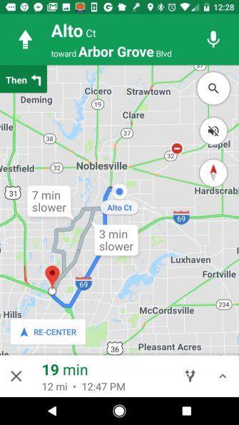 Change Voice Google Maps on