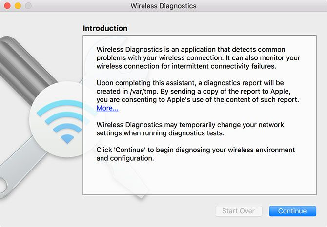macOS Wireless Assistant
