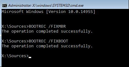 how to fix the master boot record in windows