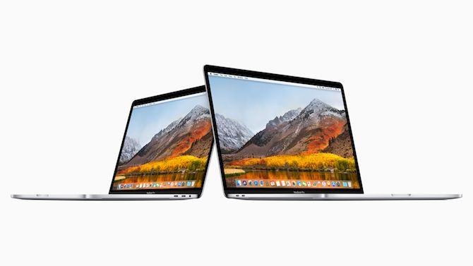 2018 MacBook Pro 13 inch and 15 inch