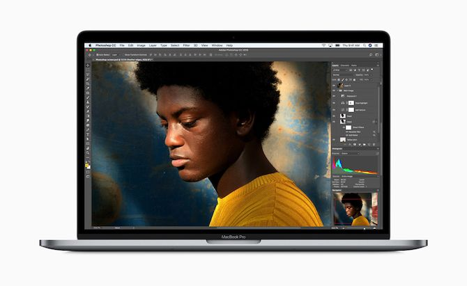 2018 MacBook Pro Running Photo Editing App