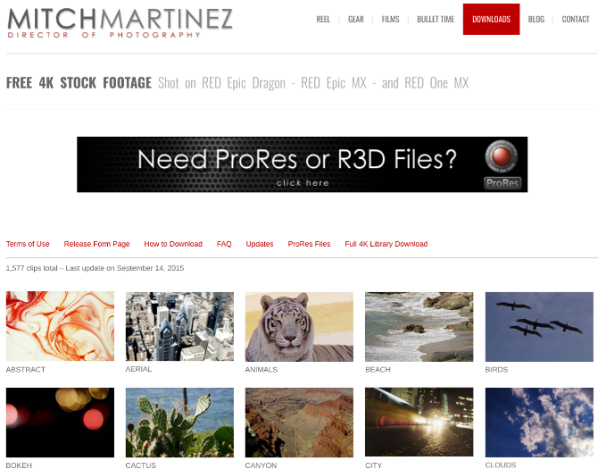 5 Sites to Download Free and Royalty-Free 4K or Ultra HD Stock Videos 4k videos mitchmartinez