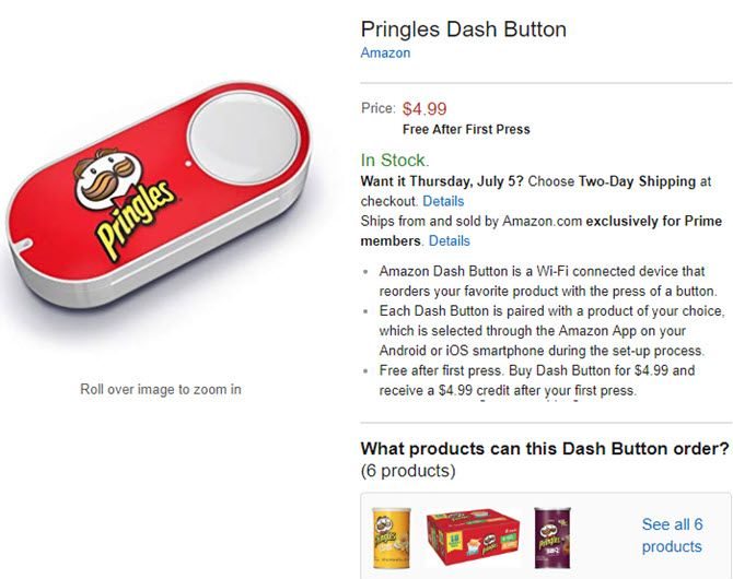 Amazon-Dash-Button-Pringles