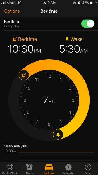 How to Use the Bedtime Feature in iOS to Improve Your Sleep