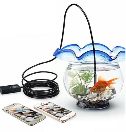 6. Depstech Wireless Endoscope