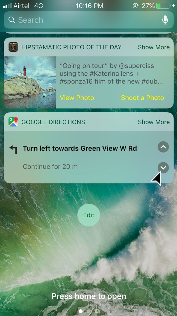 How to See Google Maps Directions Without Unlocking Your iPhone Edit Home On Google Maps on