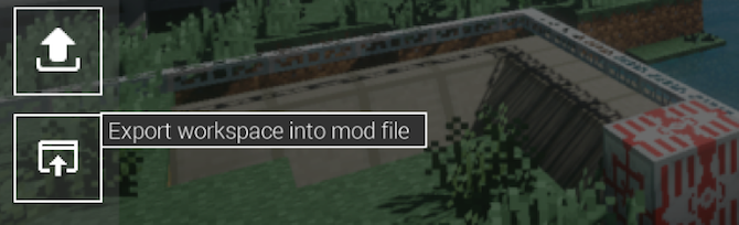 When you're done, export the mod into Minecraft