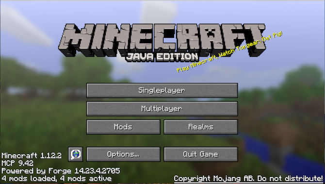 Launching Minecraft after installing Minecraft Forge