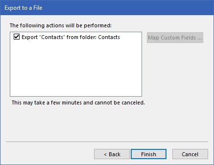 Outlook-Finish-Exporting
