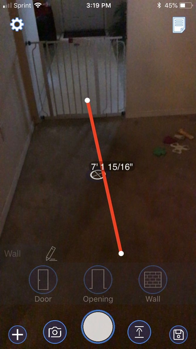 Plnar Goes Beyond Simple Measurements To Help You Create Models Of Rooms And Es Move Your Device In A Circle Slowly For The Capture