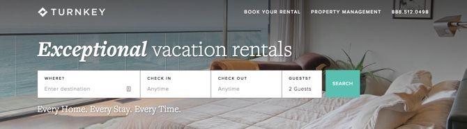 TurnKey luxury vacation rentals