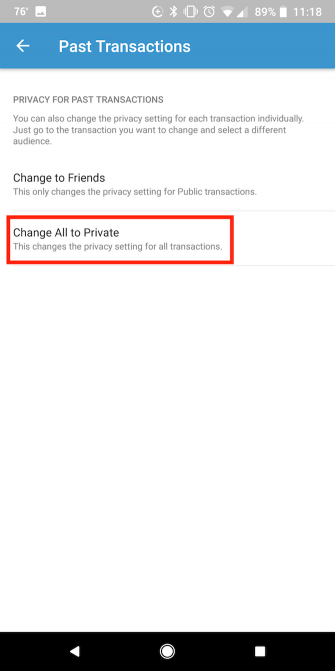 Cell phone jam | How to make your Venmo transactions private