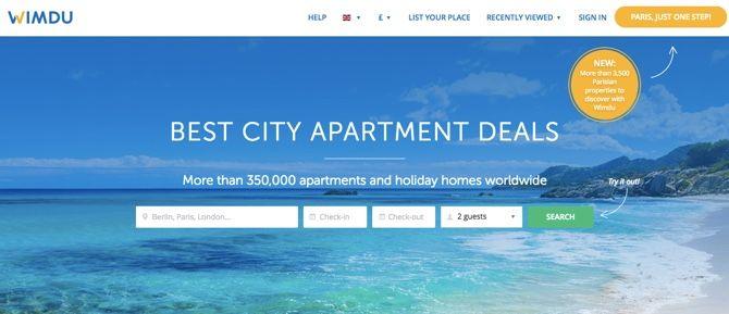 Wimdu vacation rentals