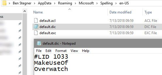 Windows Edit-Provjera pravopisa