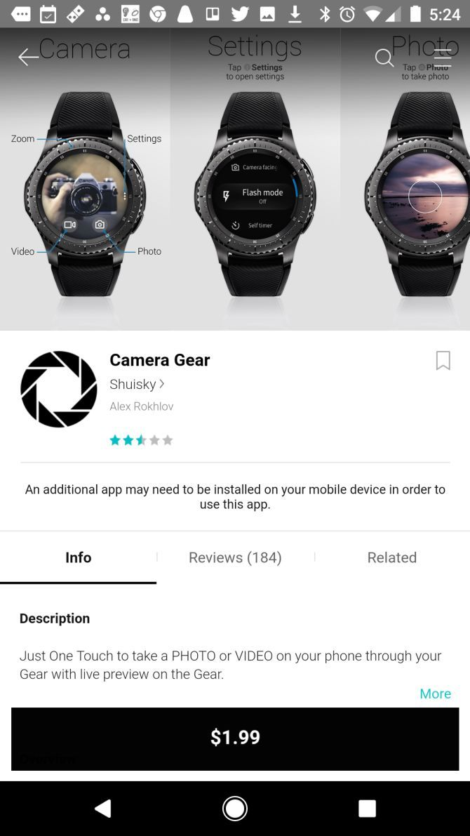 15 Samsung Gear Apps That'll Make You Feel Like a Secret Agent