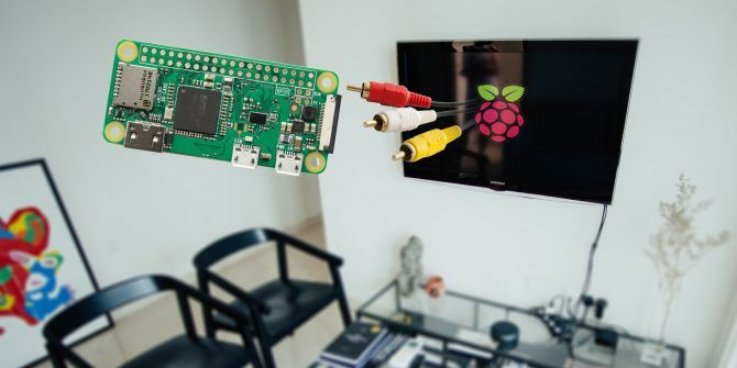 How to Connect a Raspberry Pi Zero to a TV Without HDMI