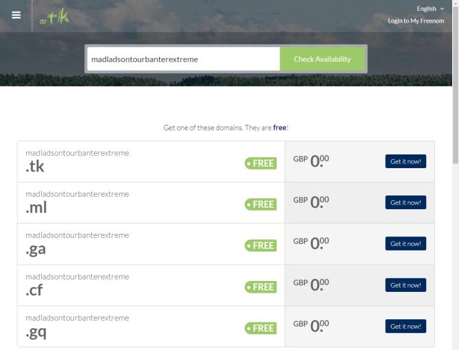 So erhalten Sie einen kostenlosen Domain-Namen für Ihre Website