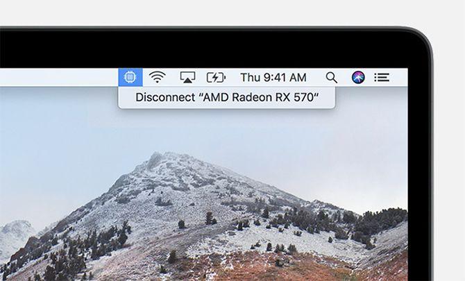 eGPU Disconnect macOS High Sierra