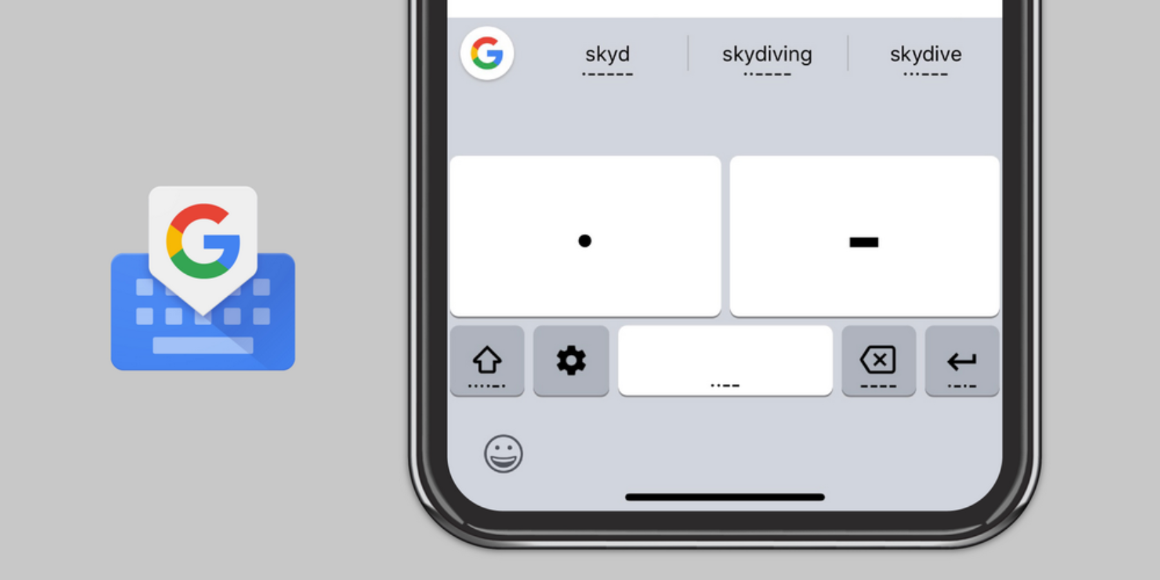 You Can Now Use Morse Code on Google's Gboard