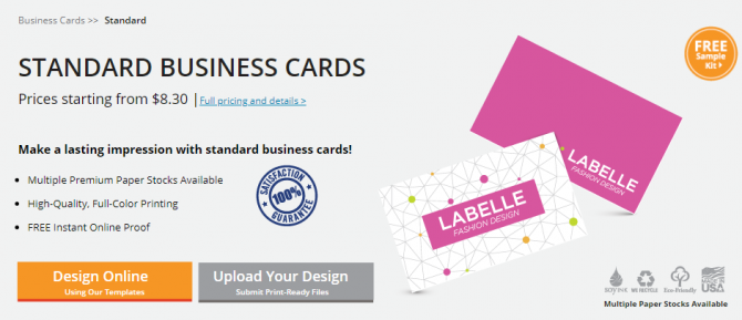 Cheap business cards from GotPrint