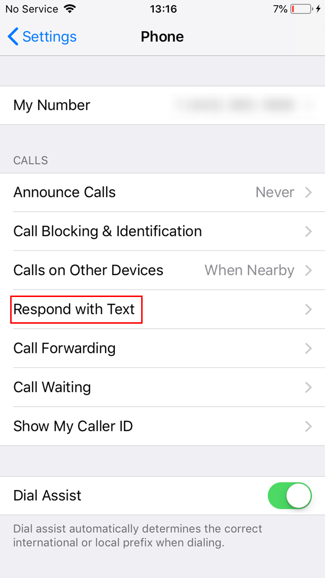 How to Send Canned Text Responses to Phone Calls – Smart Tech