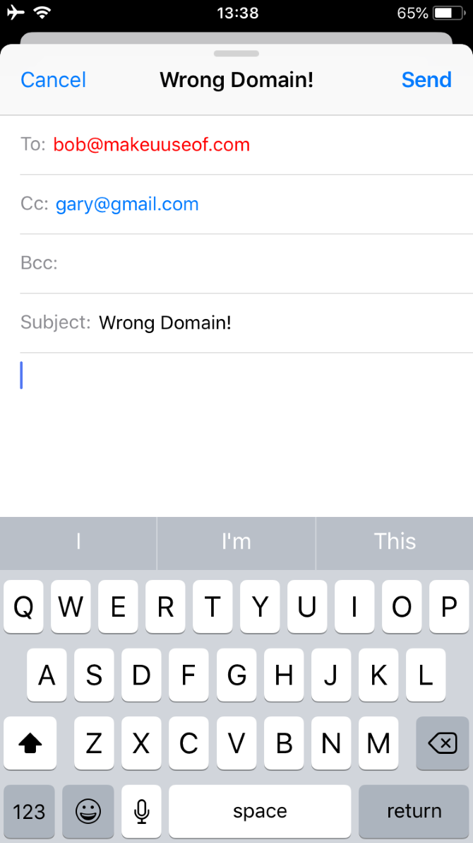 Use This iPhone Trick to Never Mistype an Email Address Again