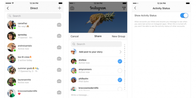Instagram Now Shows Your Friends When You're Online