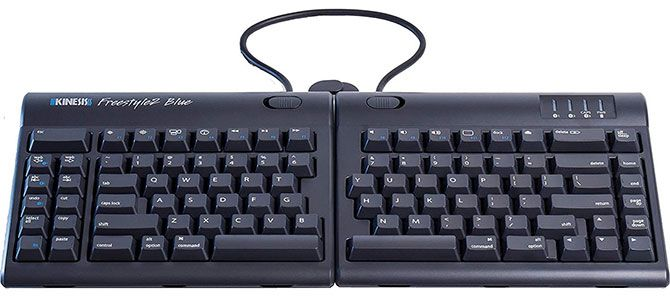 Kinesis Freestyle2 Blue Ergonomic Keyboard