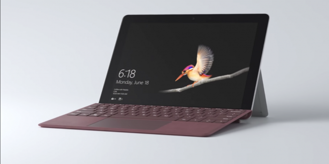 Microsoft Launches $399 Surface Go Tablet