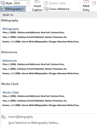 How to Generate Bibliographies in Microsoft Word With One Click microsoft word create bibliography 385x500