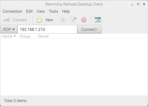 Connect to your Windows PC with Remmina