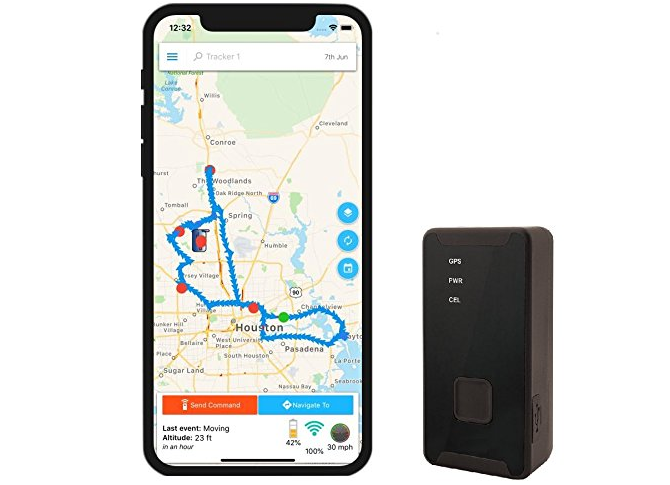 Optimus 2.0 Portable GPS Tracker for Car