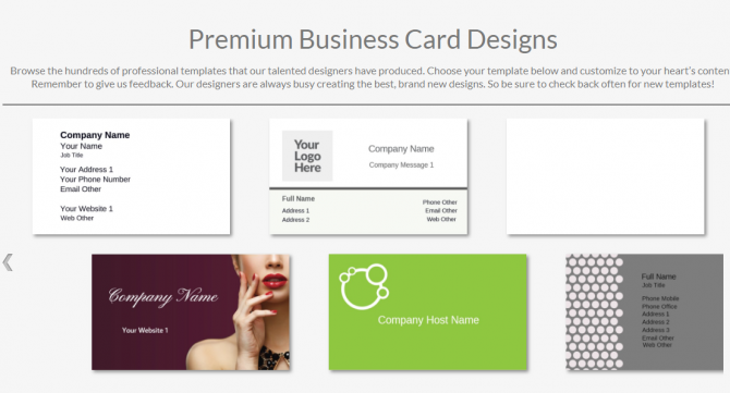 Cheap business cards from Overnight Prints