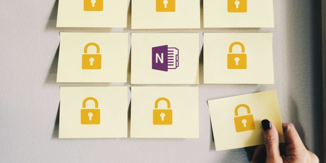 How to Password Protect Your Notes in OneNote 2016