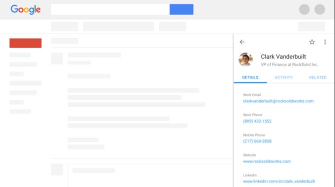 ProsperWorks CRM Gmail proširenje