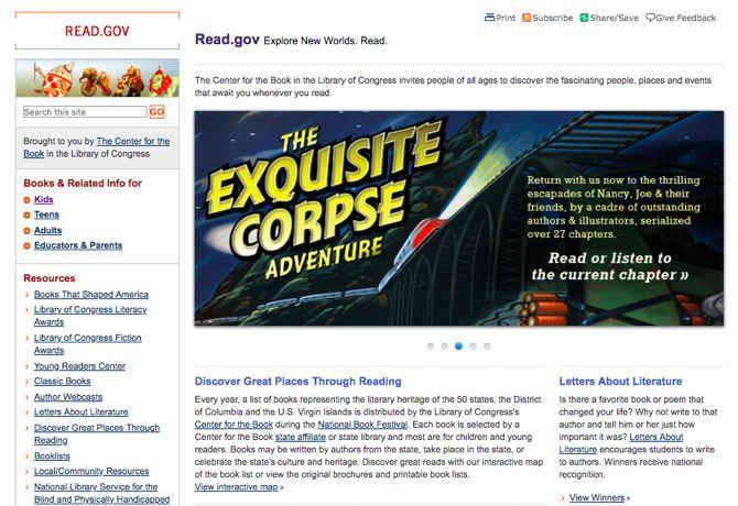Besplatne online dječje knjige na Read.govu