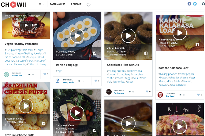 5 Smart Recipe Sites and Apps to Simplify and Reinvent Cooking recipes chowii