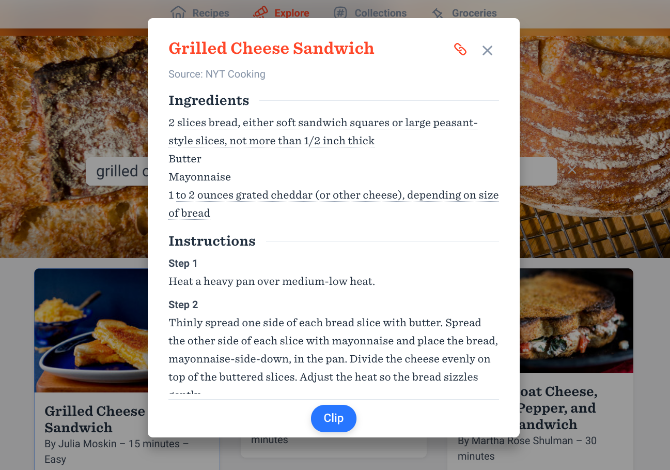 5 Smart Recipe Sites and Apps to Simplify and Reinvent Cooking recipes getnoodles