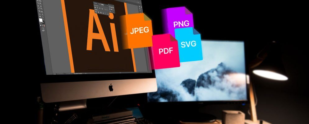 How to Save Adobe Illustrator Files in Other Formats: JPEG