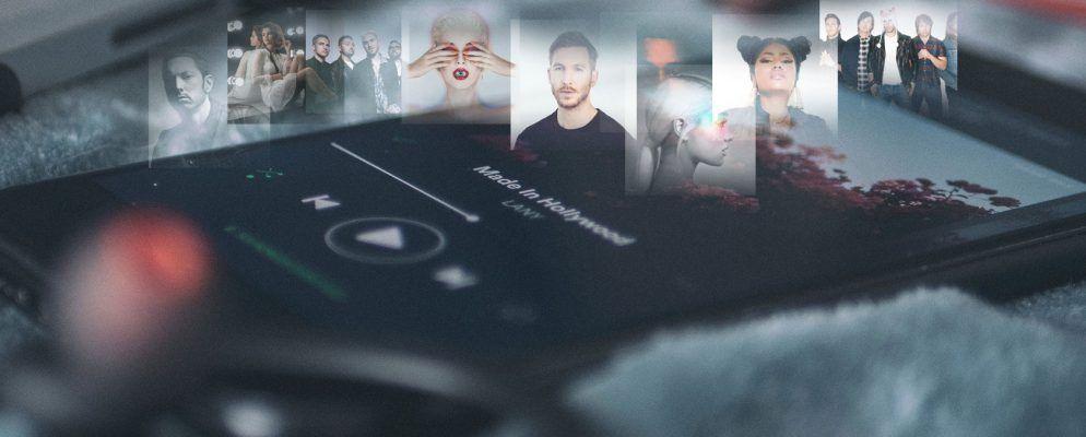 Die Top 20 der beliebtesten Künstler auf Spotify