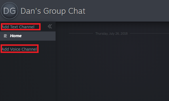 steam chat channel