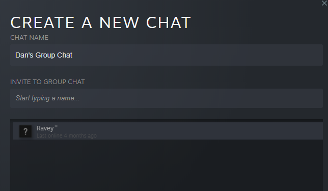 steam chat group