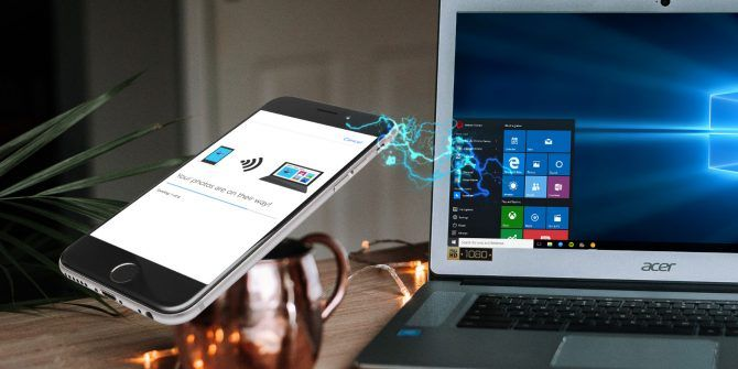 How to Wirelessly Transfer Data From a Phone to a Windows PC