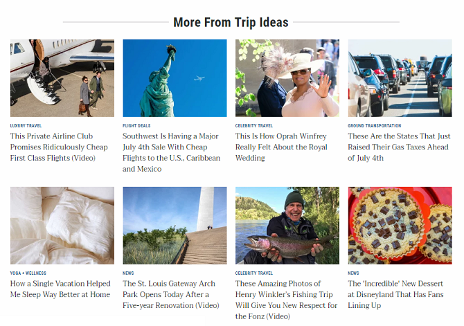apps and sites for summer vacation ideas
