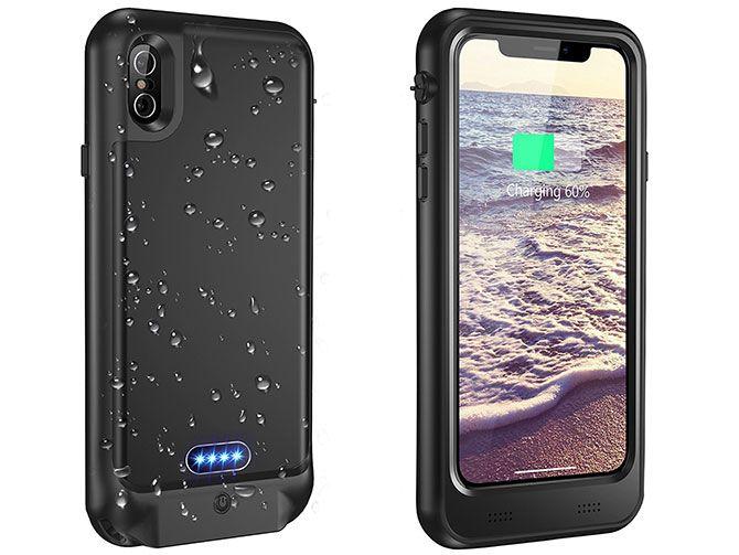 Vapesoon Waterproof Battery Case for iPhone X