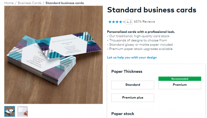 The best cheap business cards you can get online wikitimes times cheap business cards from vistaprint colourmoves