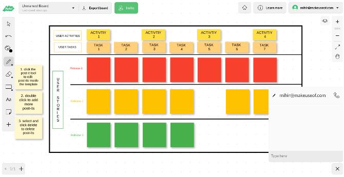 Aww - это многофункциональное бесплатное приложение для цифровых досок для отдельных лиц и команд