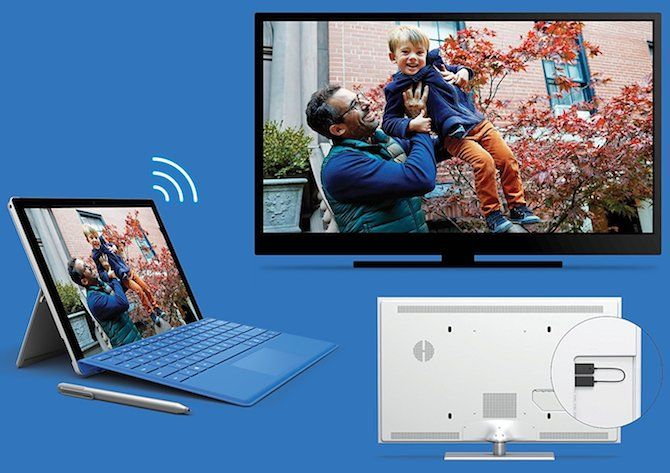 How to Project Windows 10 to TV With Miracast windows10 miracast adapter